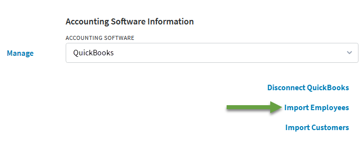 Connecting QuickBooks Online to Q by TEAM Software