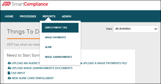 Reconciling ADP Tax File and WinTeam