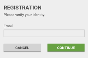 Registering for eHub (CSS)